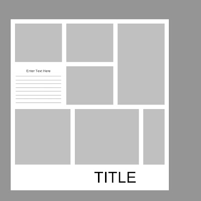 Laurie Callison\'s Visual Vocabulary: Page Layout Template From CD #5 ...