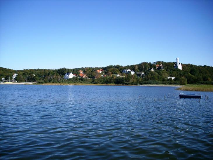 Fischerdorf Lietzow am Großen Jasmunder Bodder auf Rügen