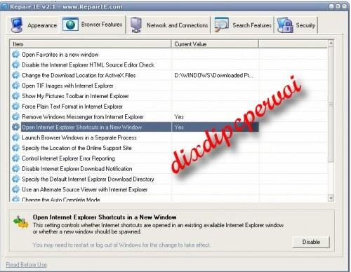 Internet explorer repair software download