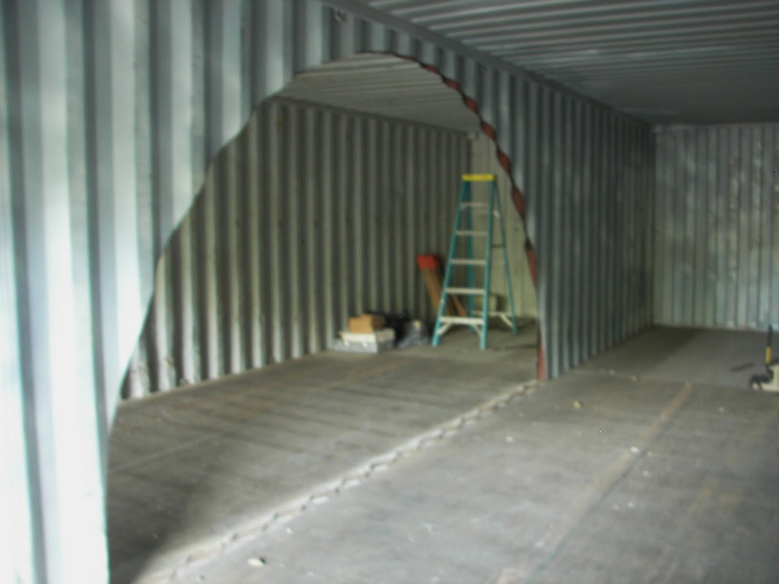 Next post will be welding the containers together - Sea container home designs ideas ...