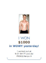 WOWY! Log Your Workouts, Win Prizes!
