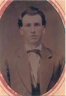 James William Munday as a young man