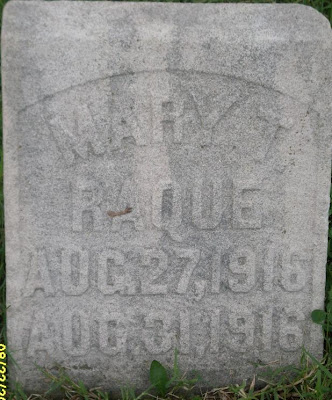 Mary T Raque tombstone