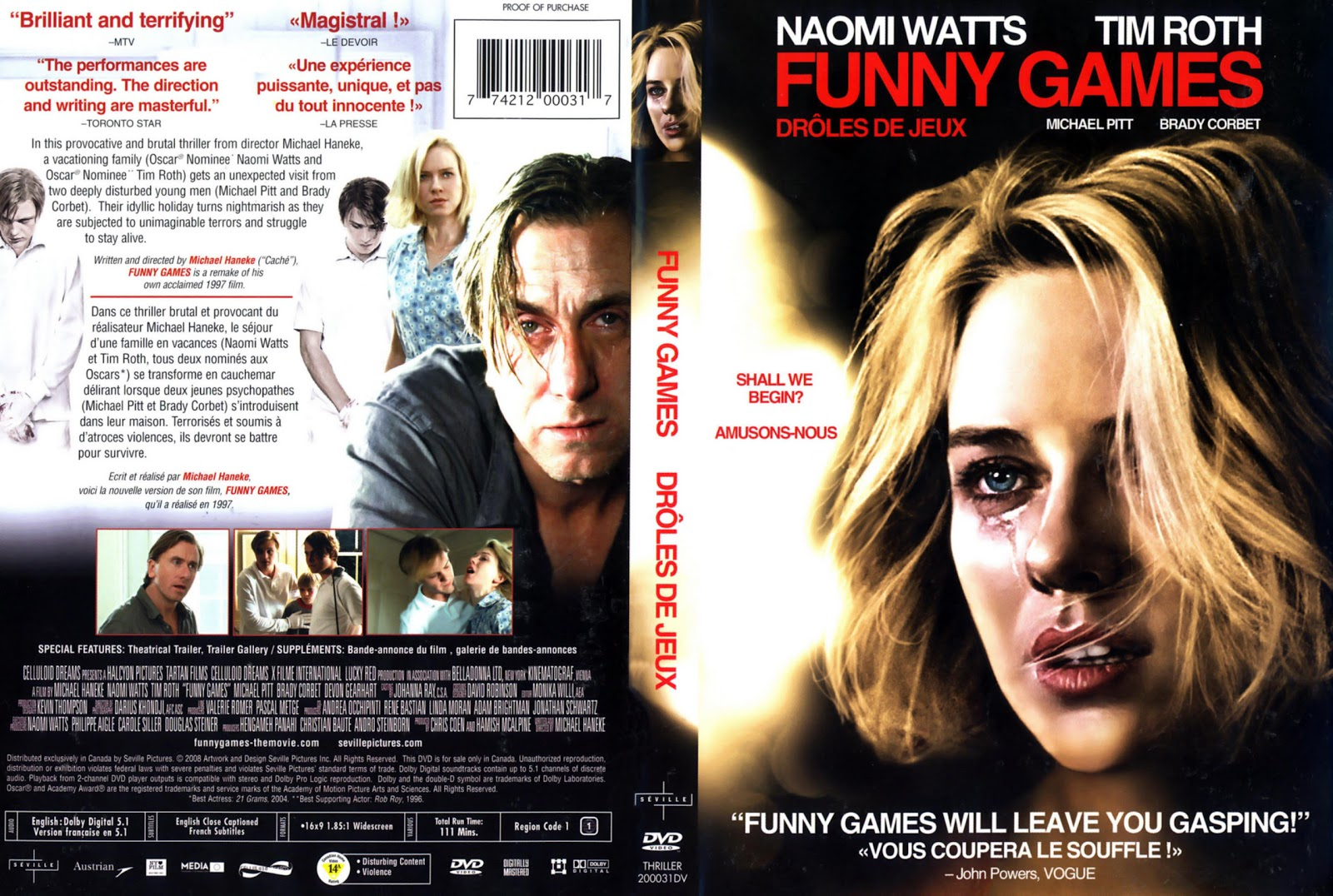 mahameru6992: Funny Games | 2007 Funny Games 2007