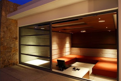 Architects Sliding Glass Door in Lighting