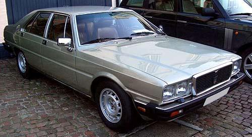 En 1986, apareció una nueva versión, el Maserati Royale, un ...