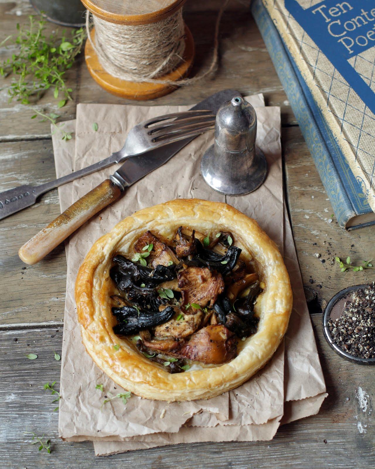 appledrane: Wild mushroom tarts