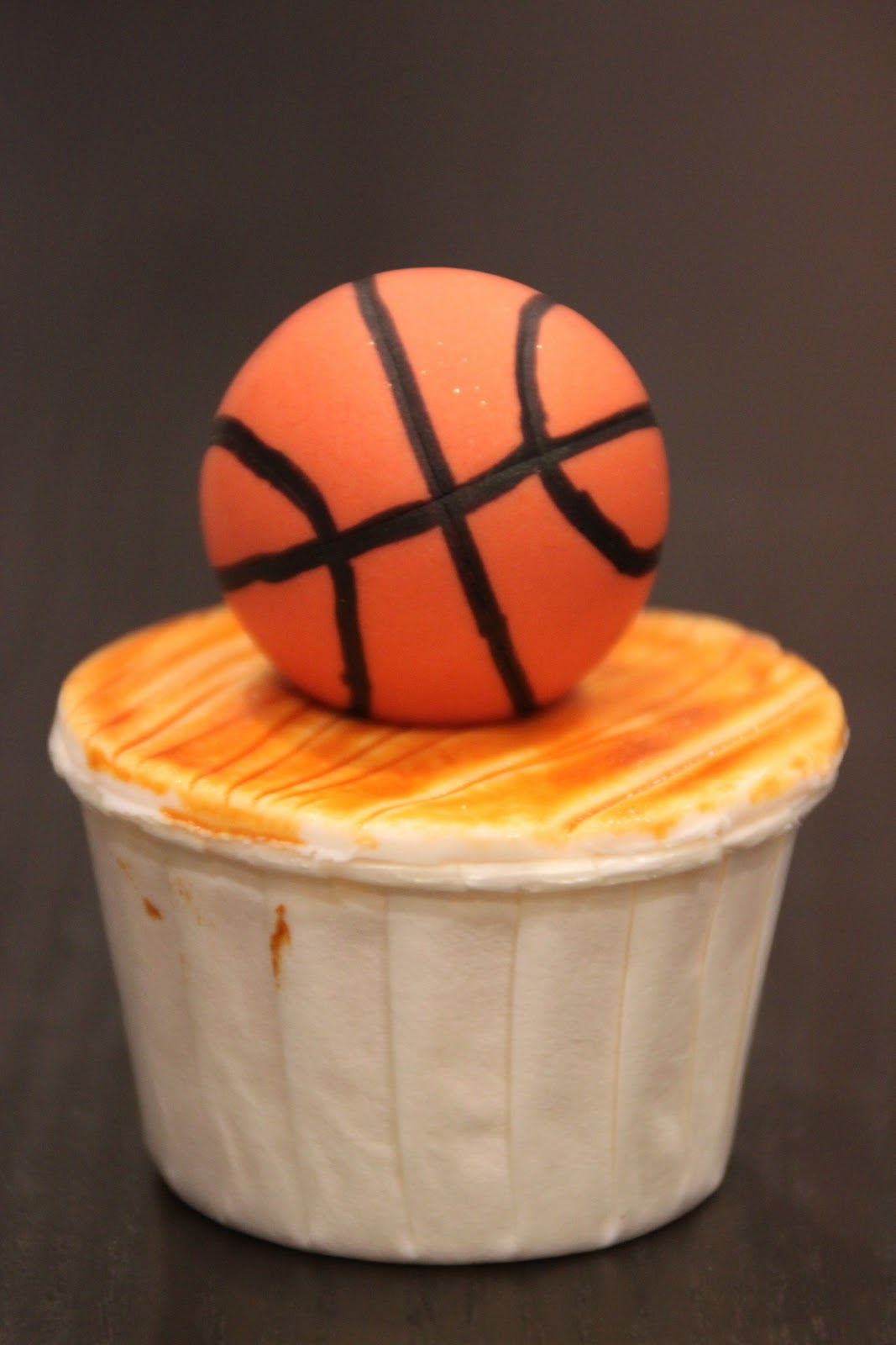 Basketball Cake Cupcake Tower