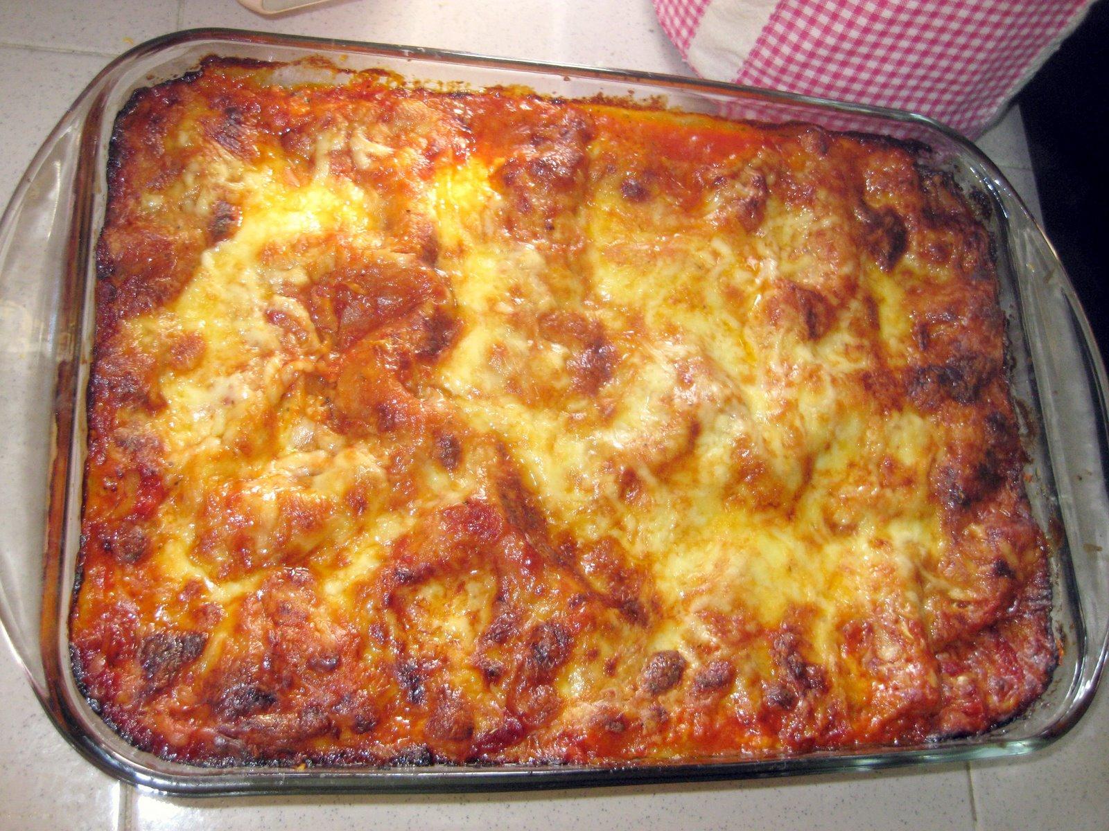 RESEPI NANNIE: Lasagna