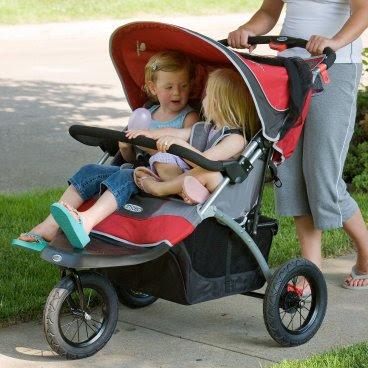 InStep Suburban Safari Double Jogging Stroller