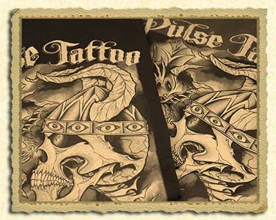 Splendorous pulse tattoo machine   Carys Zeta Douglas shall relish it