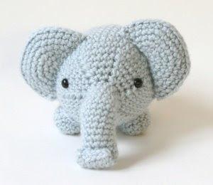 Amigurumi p? svenska: Nytt monster; elefant