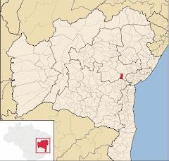 Itatim - Mapa de Localização
