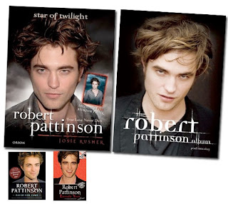 Robert Pattinson Book on Robert Pattinson Books Jpg