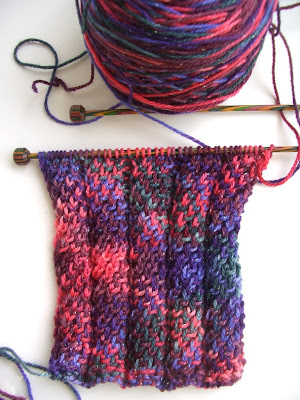 Knit Noro Reversible Cabled Scarf - Vogue Knitting