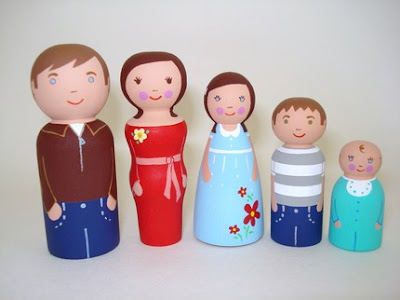 wood dolls paint your own gemmielou