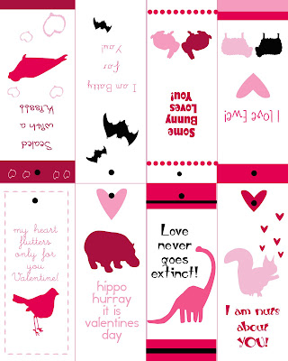 valentine print pdf free bookcard gift