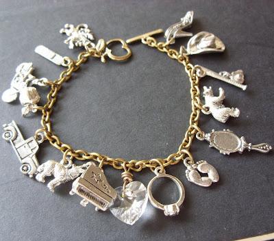 bella bracelet charm twilight emmett jasper carlisle esme rosalie jacob alice new moon charm vintage style crystal heart bella's lullabye