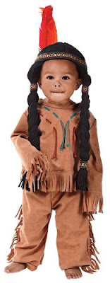 toddler costume dress up make believe indian native american boy