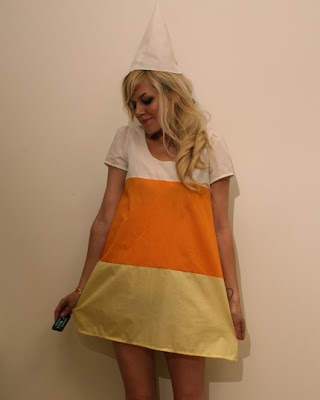Candy Corn Dress Oringially made by Iu0027m Your Present on Etsy. She does not sell this dress anymore but there are lots of other cute options ...  sc 1 st  Creating Really Awesome Fun Things & 44 Homemade Halloween Costumes for Adults - C.R.A.F.T.