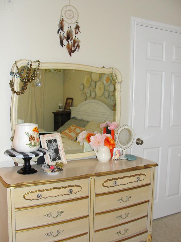 Homefront: Colorful Vintage Master Bedroom