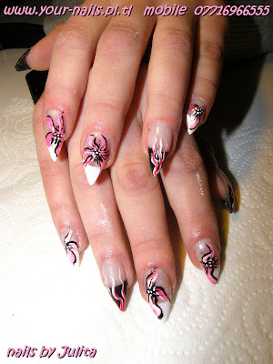 Acrylic and Gel Nails - Anna 07825325011: Julits's pointy ...