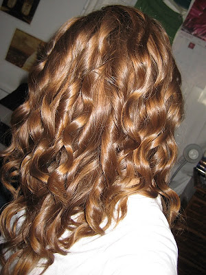 here are some S shaped curls