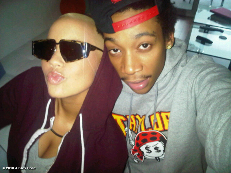 wiz khalifa amber rose tat. wiz khalifa amber rose tattoo