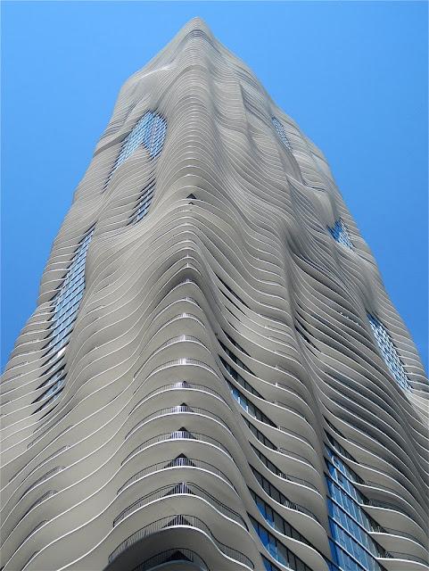 Torre Aqua de Chicago: un rascacielos diferente