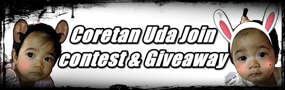 Coretan Uda Join Contest & Giveaway