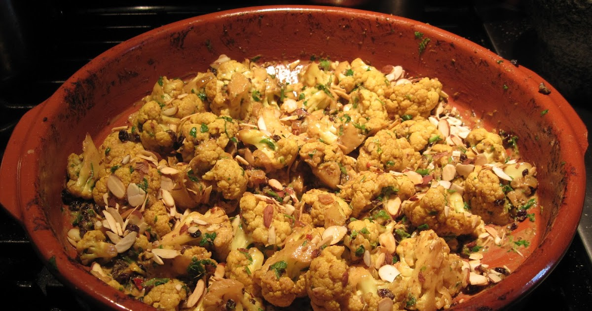 Urban Food Guy: Indian Spiced Cauliflower with Almonds and Currants