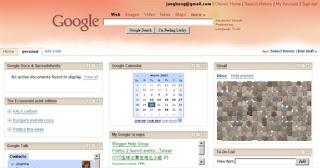 Google 自訂首頁