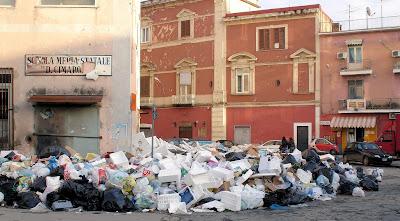 Aversa, piazza Marconi, 24 dicembre 2007
