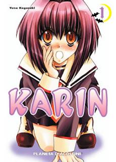 El último manga que has leído Karin