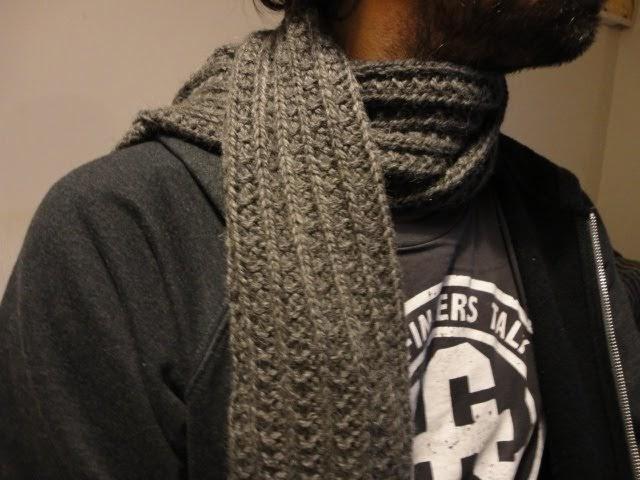 Trico bsession tricoter une echarpe facilement - Tricoter une echarpe homme ...