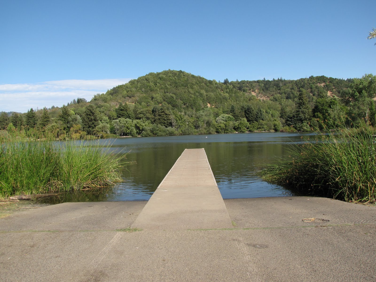 Sonoma county hike bike and bean blog spring lake for Lake sonoma fishing report
