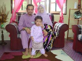 familyku di hari raya 2009