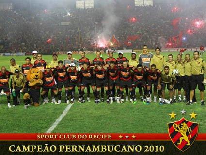 Campeão Pernambucano 2010 - Sport Club do Recife
