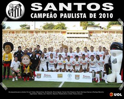 Campeão Paulista 2010 - Santos