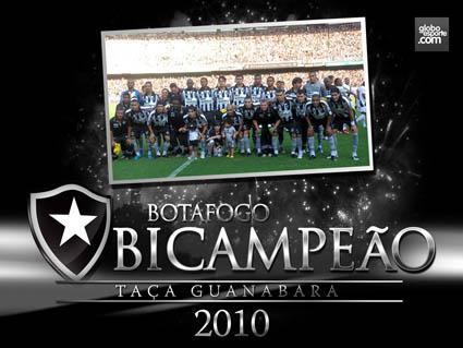 Campeão Carioca 2010 - Botafogo campeão taça Guanabara