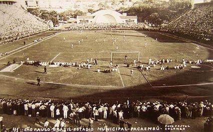 Estádio do Pacaembu 1941