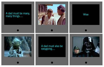 Cartão Star Wars