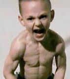 O menino mais forte do mundo criativo de galochas o menino mais forte do mundo thecheapjerseys Choice Image