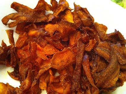 cenoura bacon