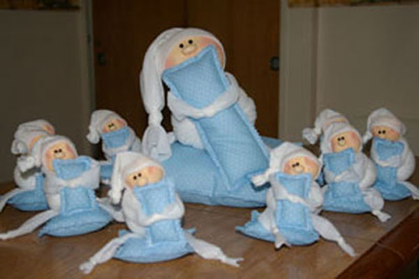 Souvenirs nacimiento duendes nenes