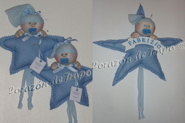 Souvenirs bebés-cartel para puerta