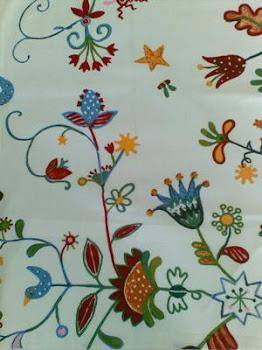 Sprei Motif Bunga Fantasi (Harga Termasuk Ongkir)