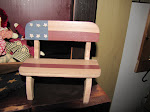 Doll Bench ~ Americana ~ $5.00