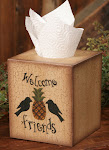 Tissue Box Cover ~ $7.00