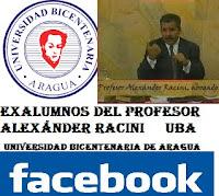 Lista de Alumnos del Profesor Alexander Racini ( Universidad Bicentenaria de Aragua UBA ) Materia : Derecho Civil I Sección : X Año: 1996